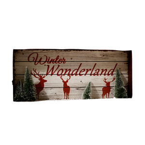 Vintage Winter Wonderland Sign