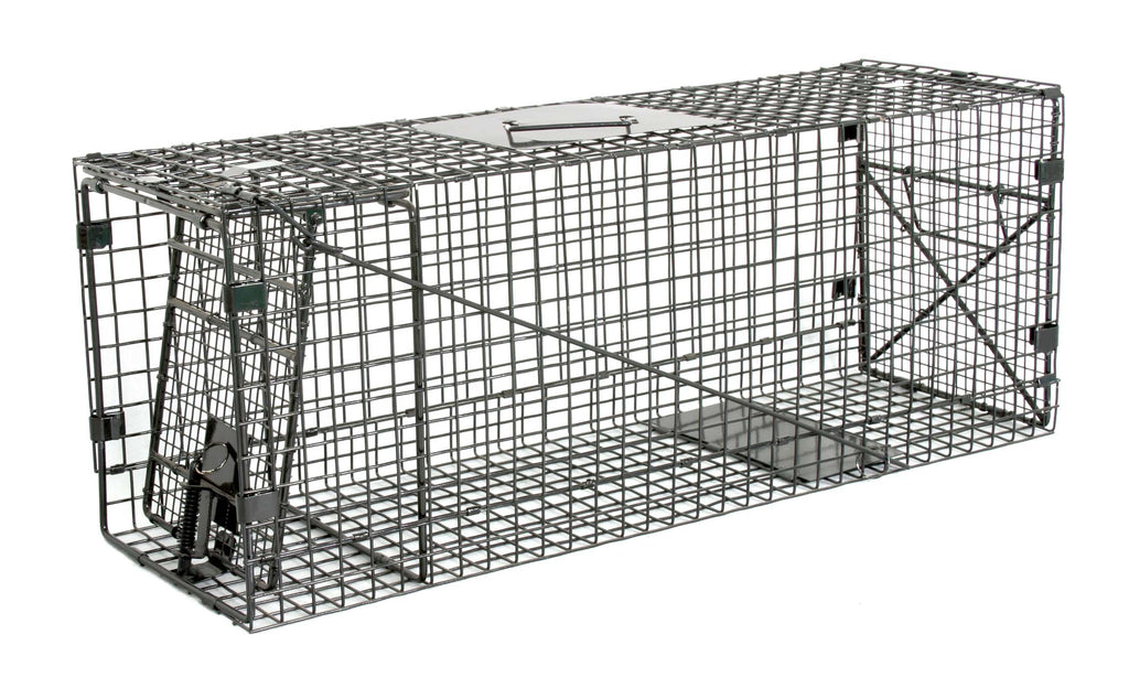 "Humane Way Foldable Metal Animal Trap – 32"" L x 12"" H x 10"" W"
