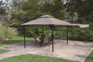 "Replacement Mosquito Netting for 10"" x 10' Extending Gazebo"