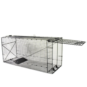"Humane Way Foldable Metal Animal Trap – 42"" L x 18"" H x 16"" W"