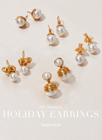 Julie Vos pearl earrings