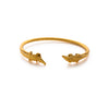 Julie Vos - Alligator Bangle, Julie Vos - Alligator Bangle, Gold