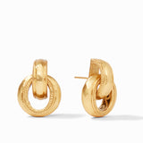 Cassis Doorknocker Earring