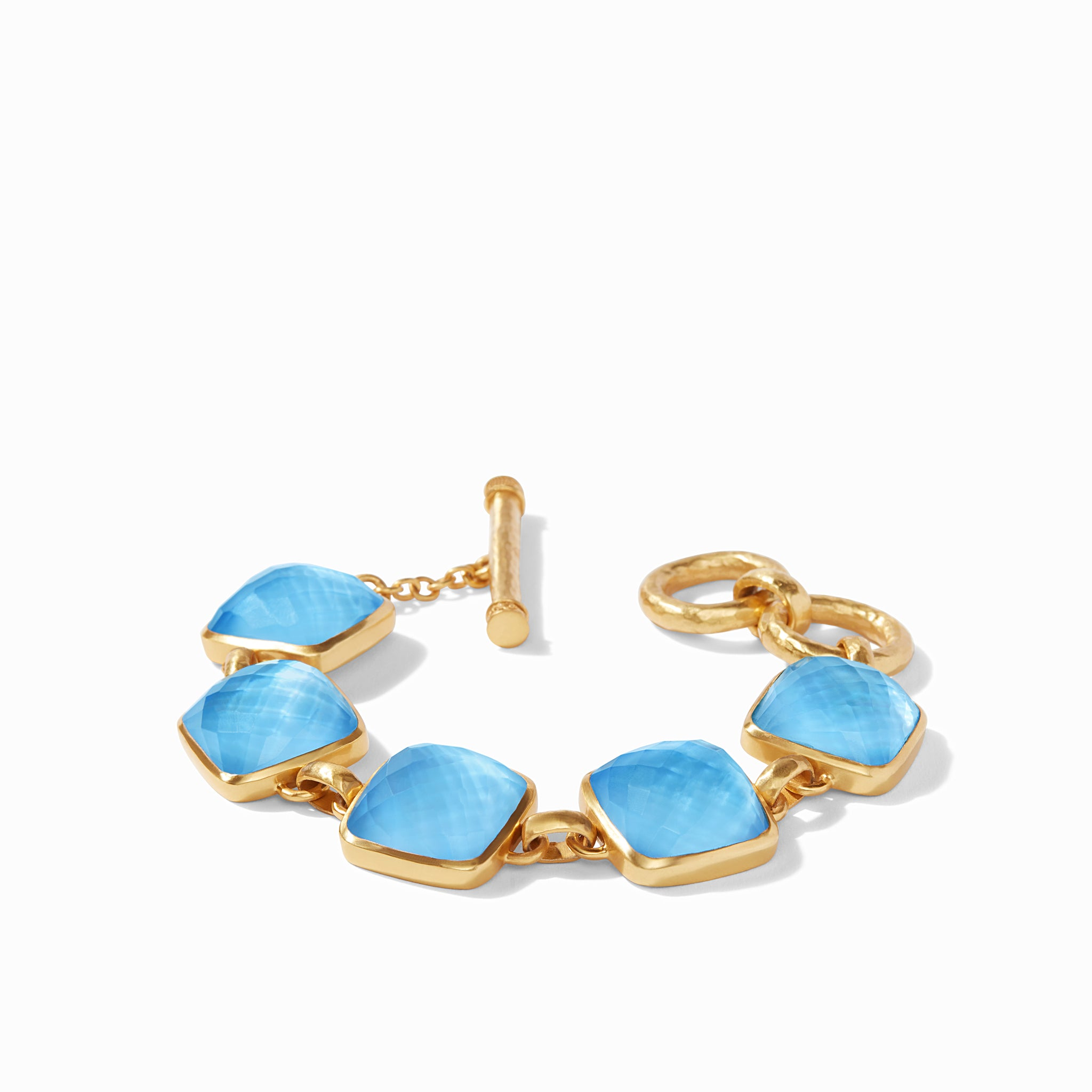 Iridescent Pacific Blue, resort, stacking bangles, irresistibly iridescent, summertime 2020, classic bracelet 2020