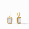 Julie Vos - Clara Luxe Earring, Clear Crystal