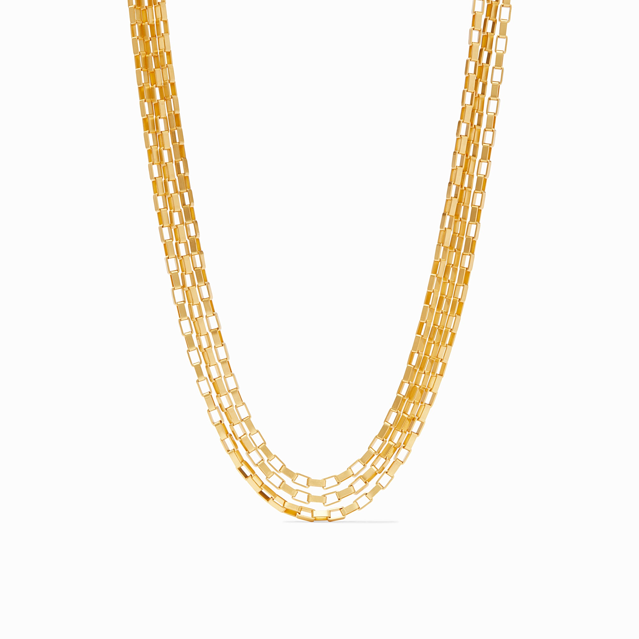 Geneva Triple Strand Necklace