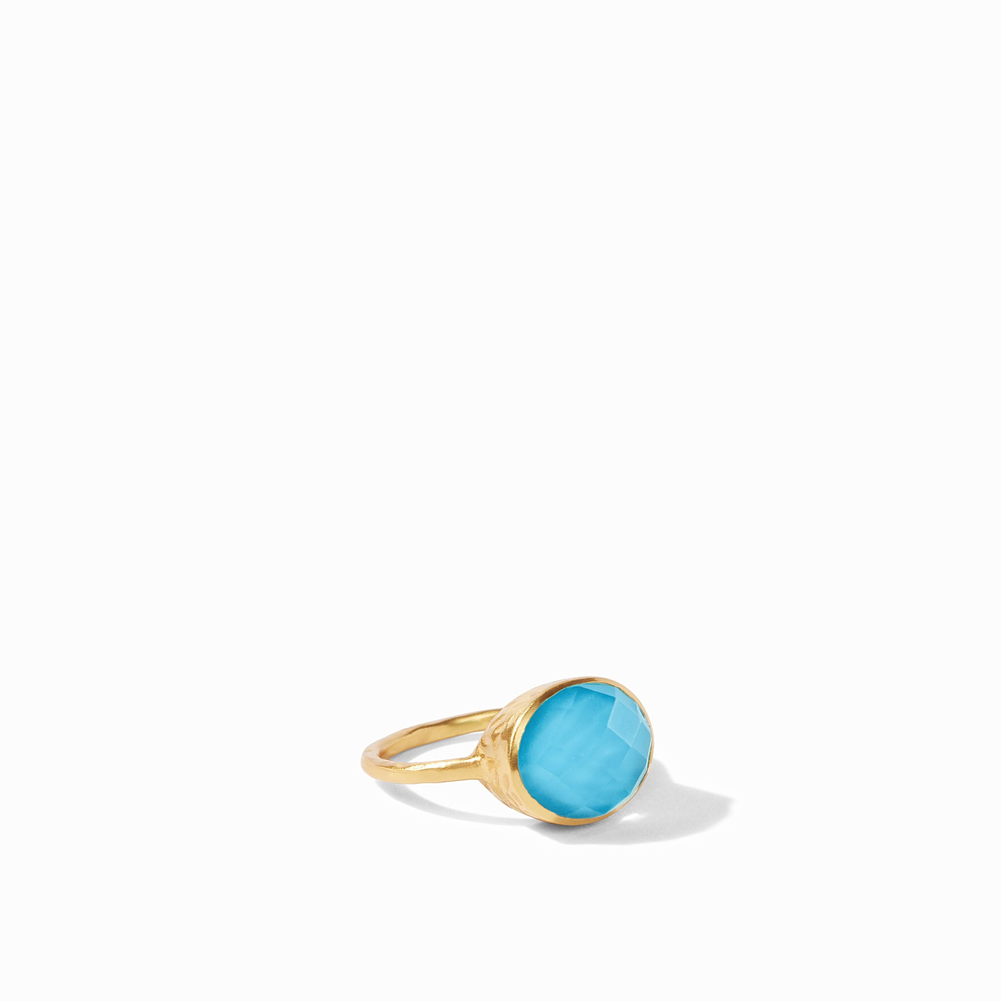 Iridescent Pacific Blue, resort, summer ring, classics, into the blue