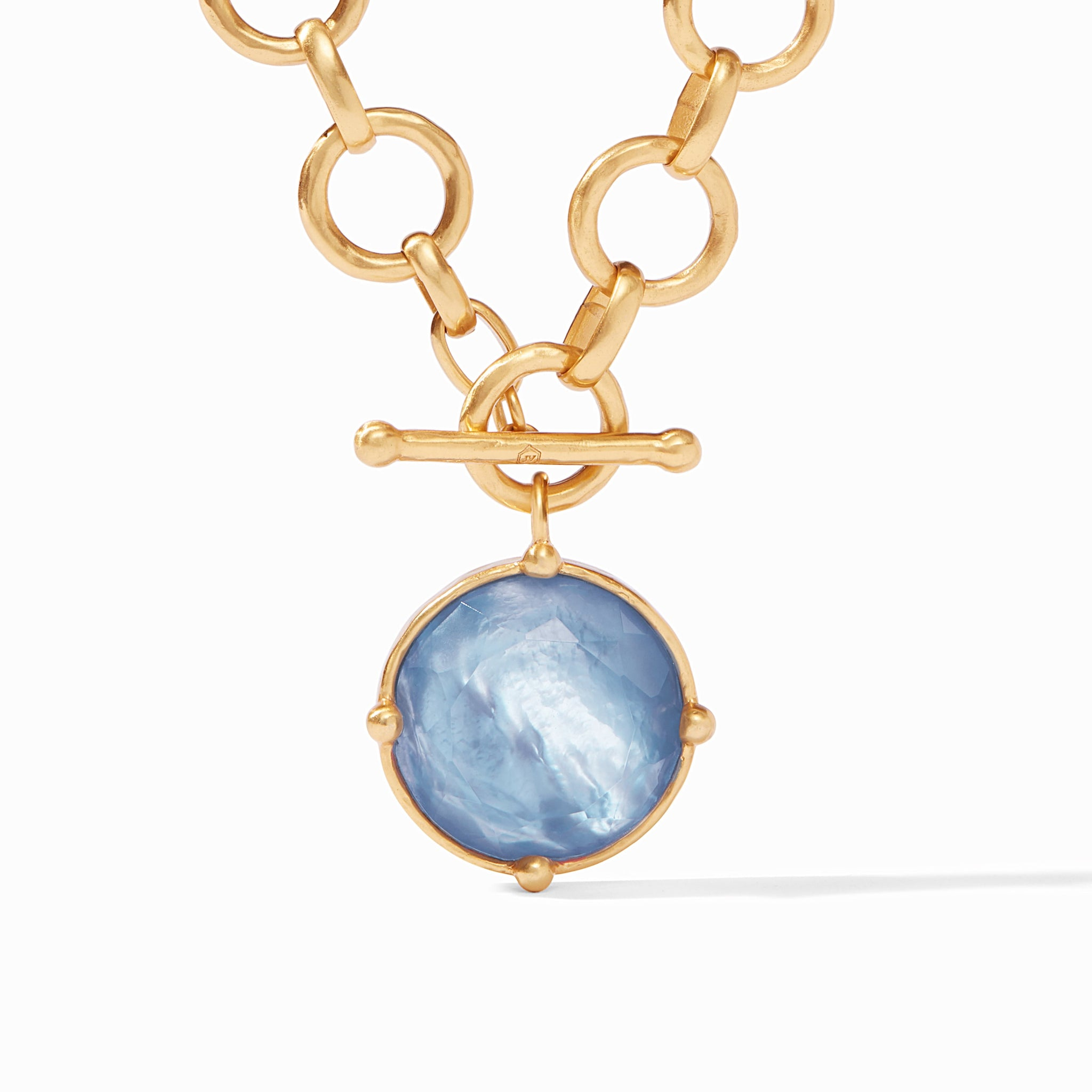 Iridescent Chalcedony Blue, into the blue