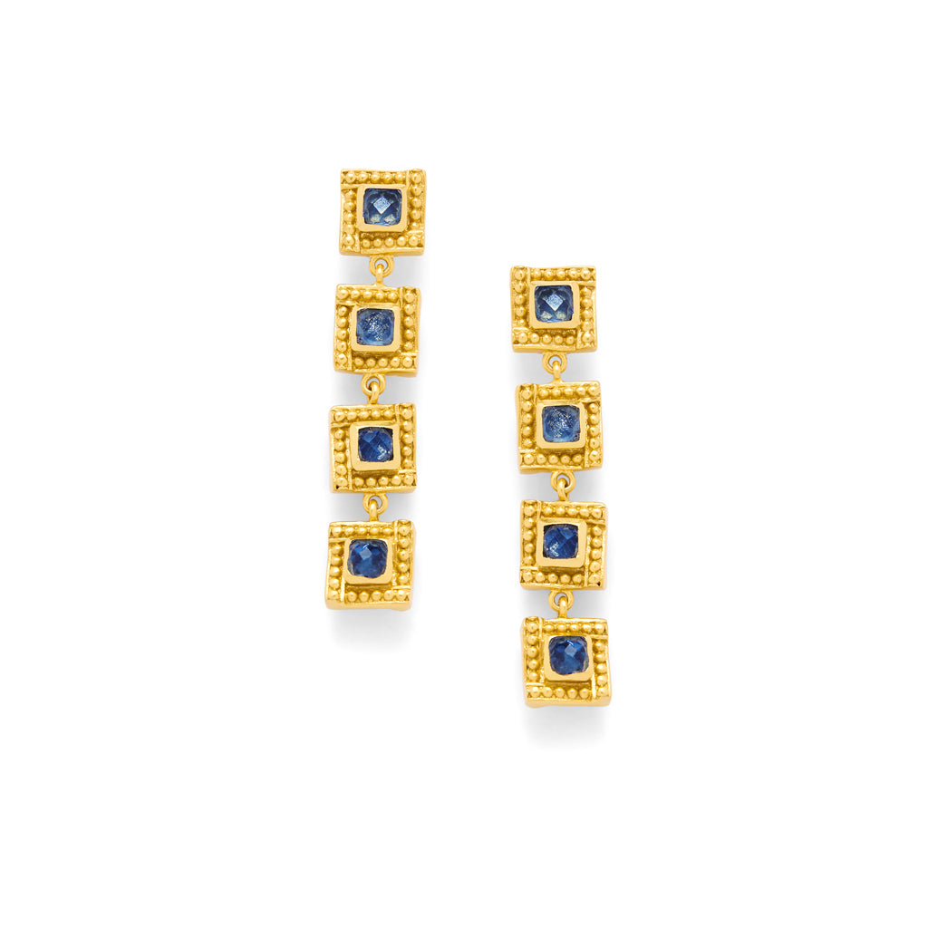 Sapphire Blue, Party Earrings