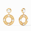 Julie Vos - Olympia Statement Earring, Pearl