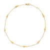 Julie Vos - Pineapple Delicate Necklace, Julie Vos - Pineapple Delicate Necklace,