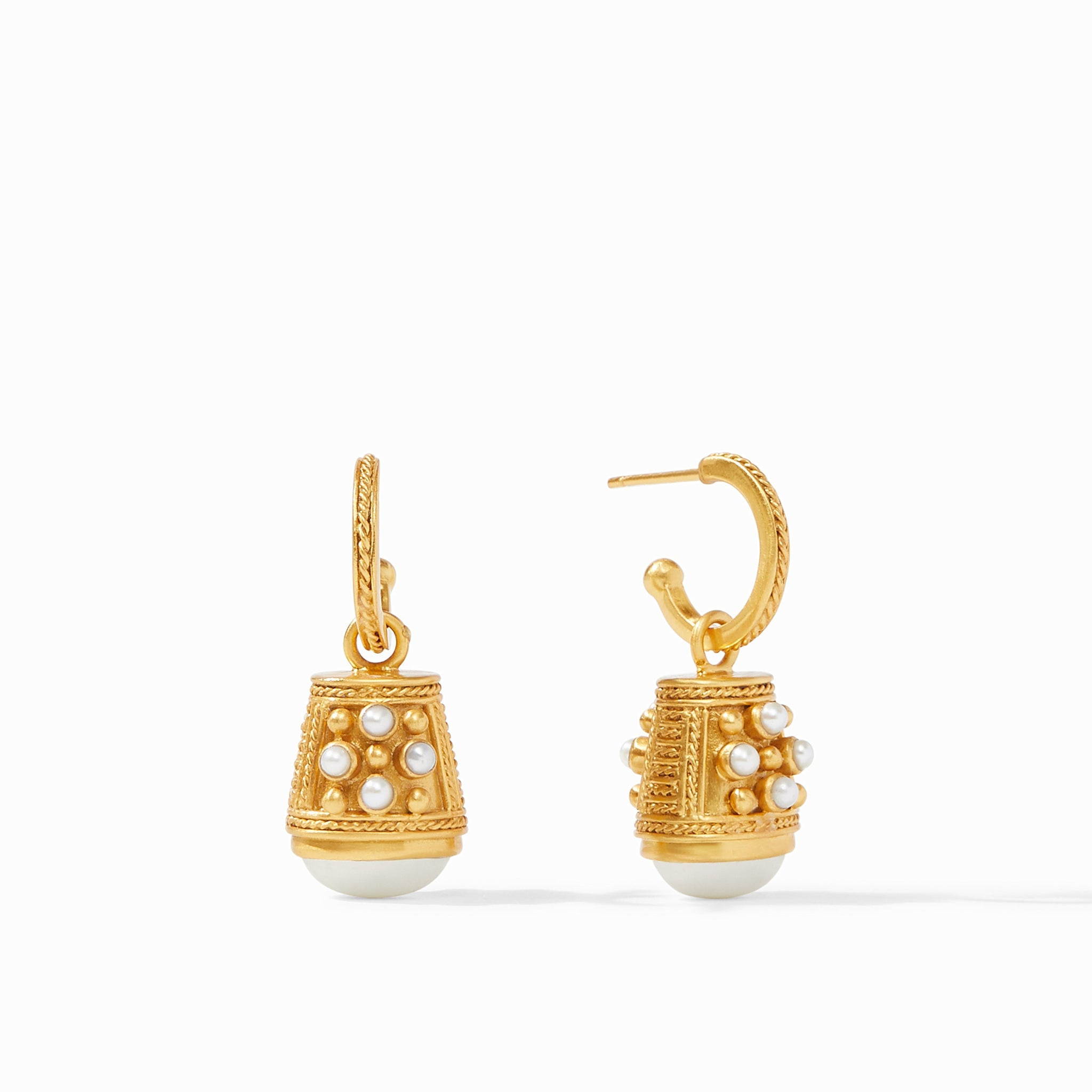 Paris Bell Charm Earring