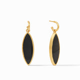 Obsidian Black, earrings