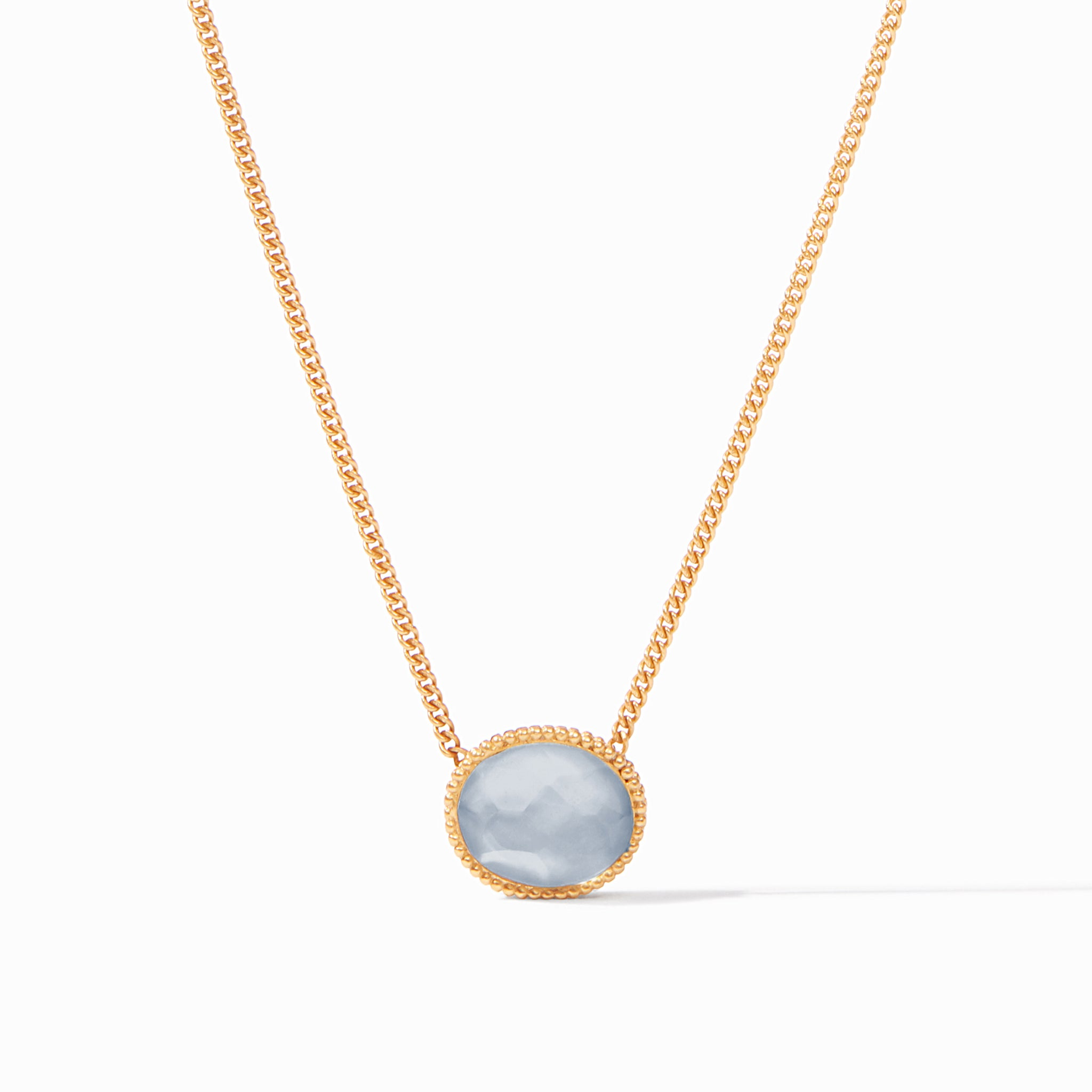Iridescent Chalcedony Blue, Back in Stock, necklace favorites, gift guide 2020, the finer things, new in chalcedony blue