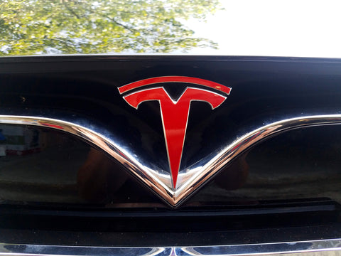 Model X Frunk Logo Decal