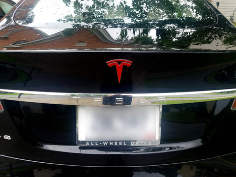 Model S Trunk Logo Decal