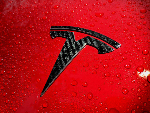 Tesla Model 3 Frunk Logo Decal