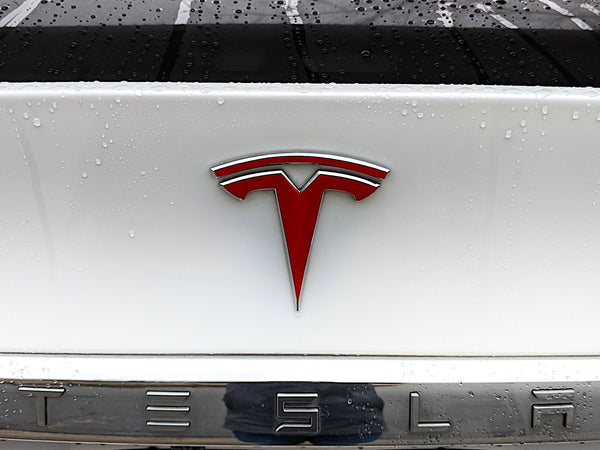 Model X Trunk Logo Decal
