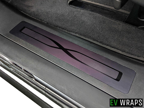 Model X Rear Door Sill Protector