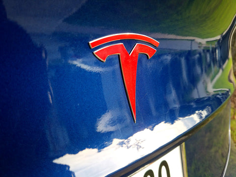 Model Y Trunk Logo Decal