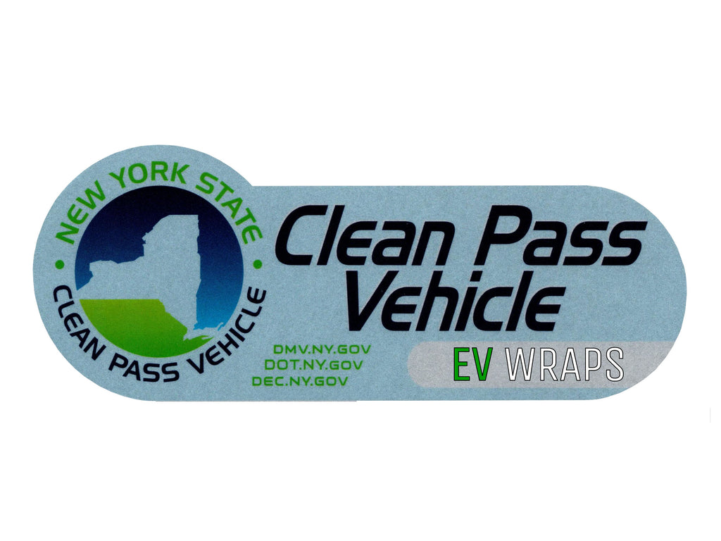 New York HOV Stickers Protection Film