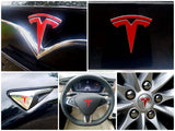 Model S New Fascia Logo Decal Bundle