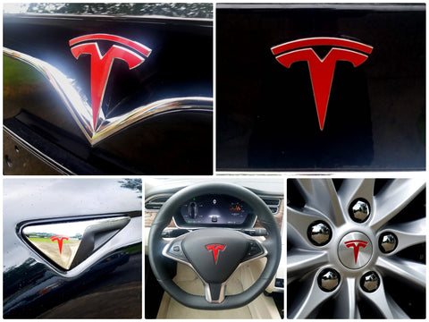 Model X Logo Decal Bundle