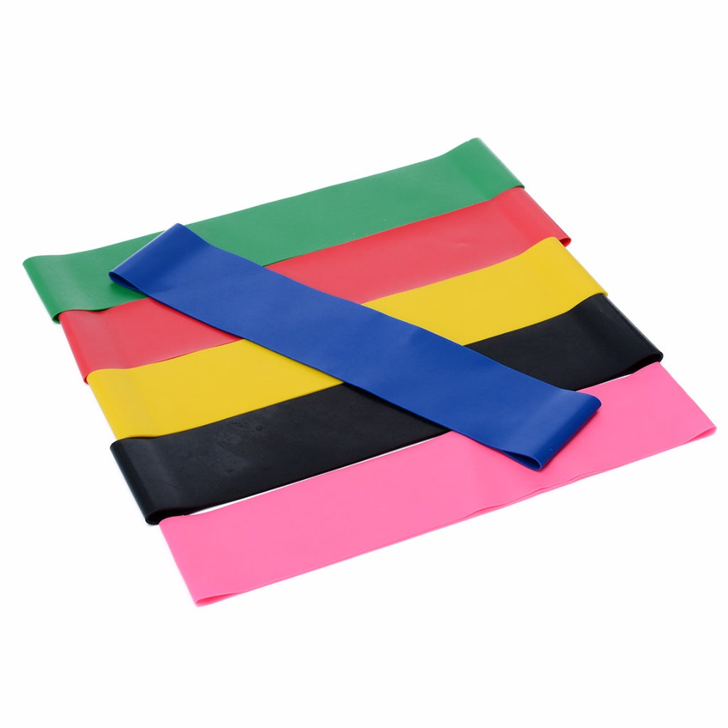 6 Piece Elastic Resistance band Set