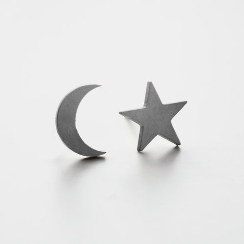 Starry Night Earring. [Silver]