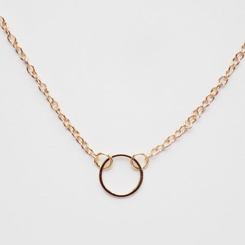 Karma Necklace. [Gold]