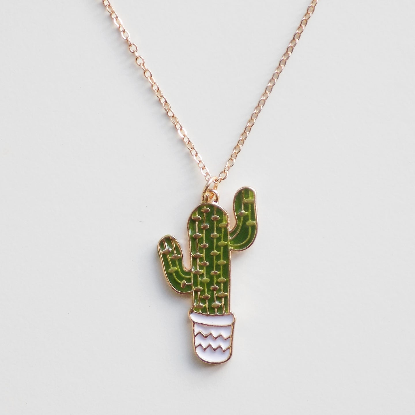 Cactus Necklace [Gold]