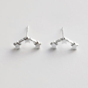 Star Constellation Earring. [Silver]