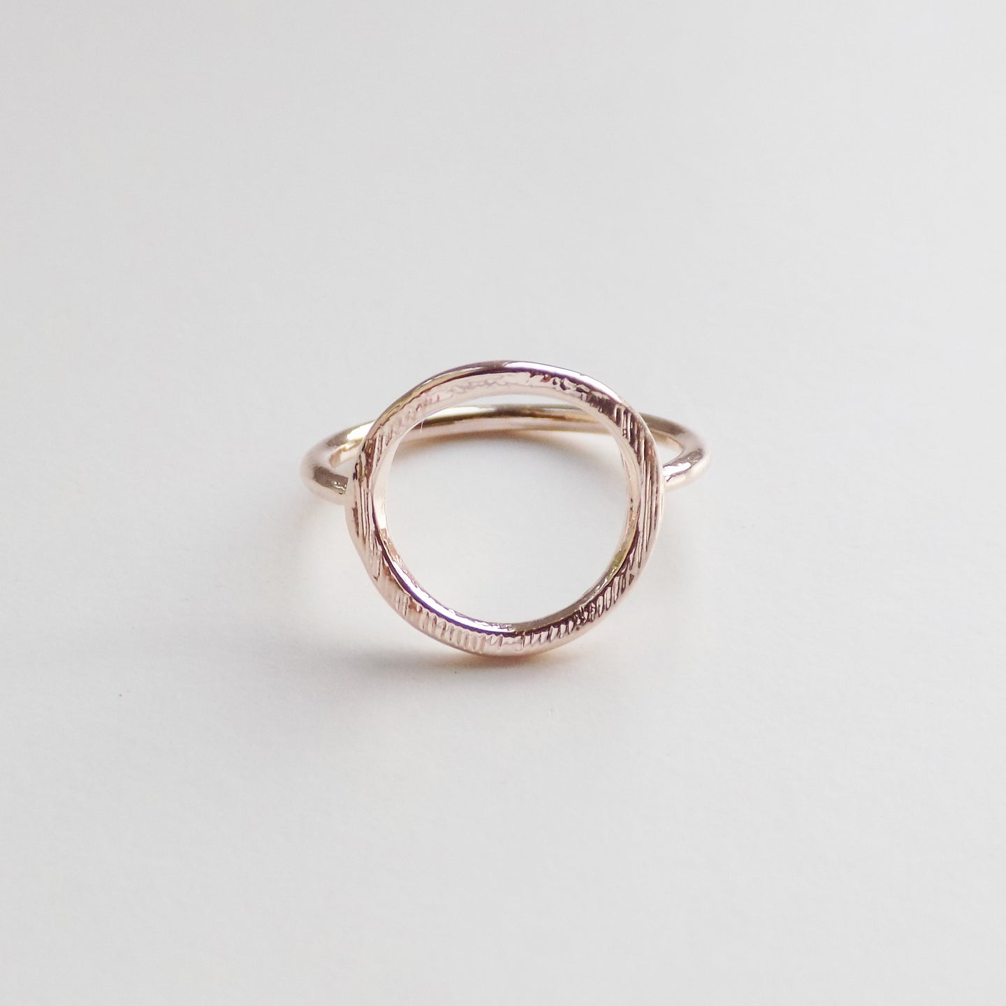 Karma Ring. [Rose Gold]