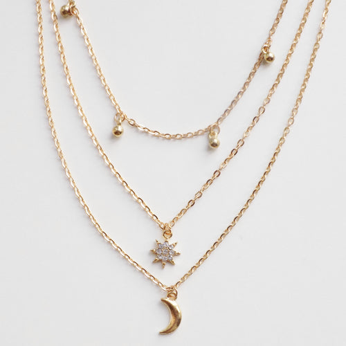 Universe Necklace. [Gold]