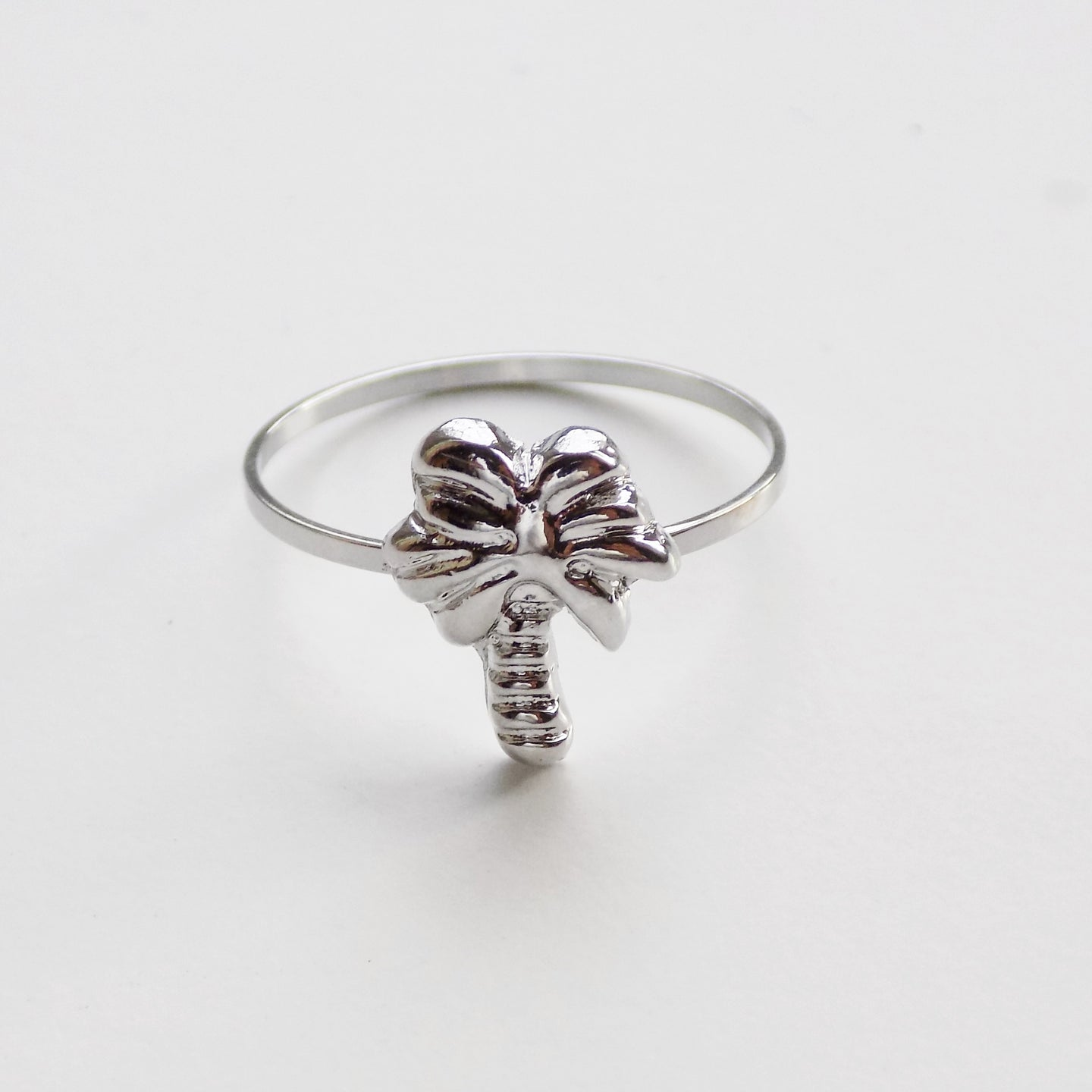 Palm Tree Ring. [Silver]