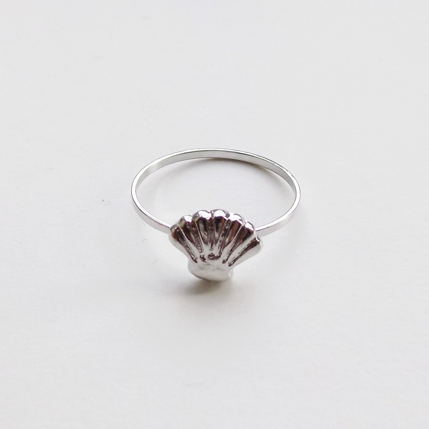 Seashell Ring. [Silver]