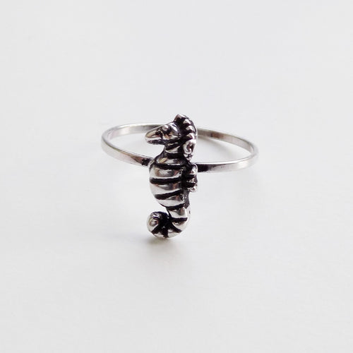 Seahorse Ring. [Silver]