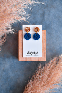 ELISEA ROCKS - GOLD/BLUE
