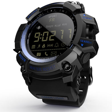 Tactical Smart Watch V8 Navy Blue