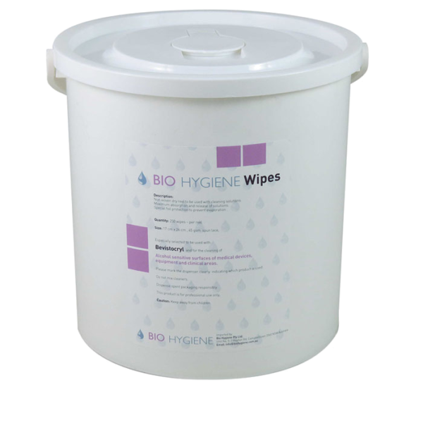 Bio Hygiene Bucket Wipes Dry (250)