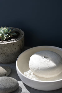 Urchin tabletop fountain