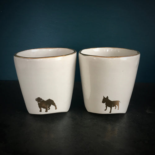 Copy of Tumbler set - gold dogs