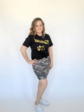 Casual Camo Mini Skirt