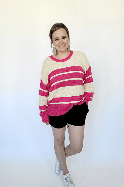Summer Shorts Sweater