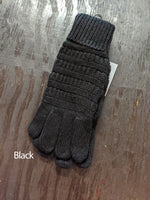 Cable Knit Gloves