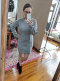 Distressed Sweater Dress