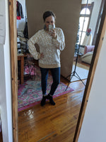 Muted Leopard Sweater