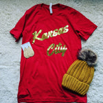 Kansas City Tee Red
