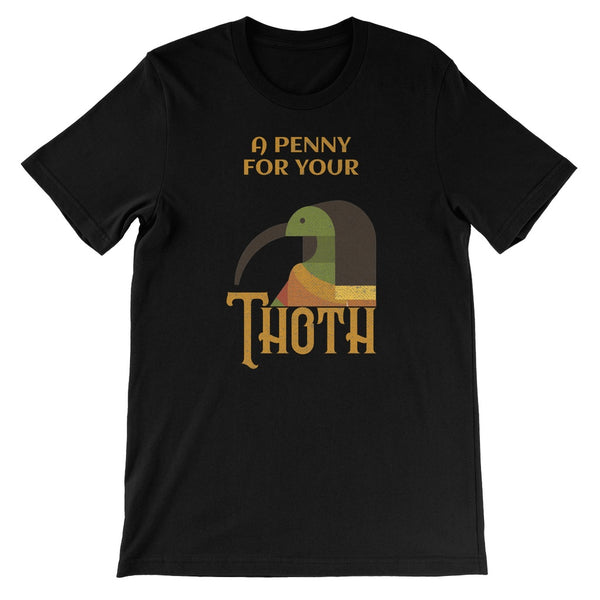 A Penny for your Thoth Unisex Short Sleeve T-Shirt