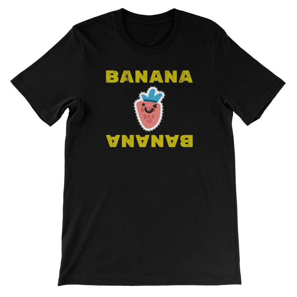 Banana  Strawberry Unisex Short Sleeve T-Shirt